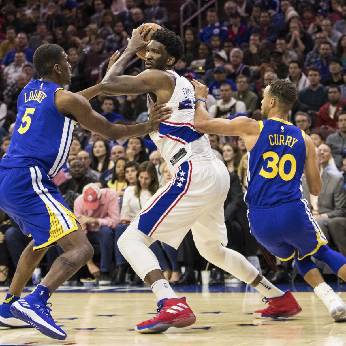 Warriors Sixers Full Game Highlights