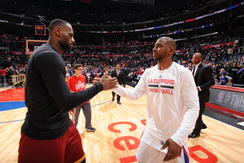 690b0556007 LeBron James Rumors: Lakers a 'Long Shot'; Teaming with Chris Paul  'Overstated'