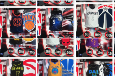 bdb08538456 NBA 2K18 Leaks City Edition Jerseys