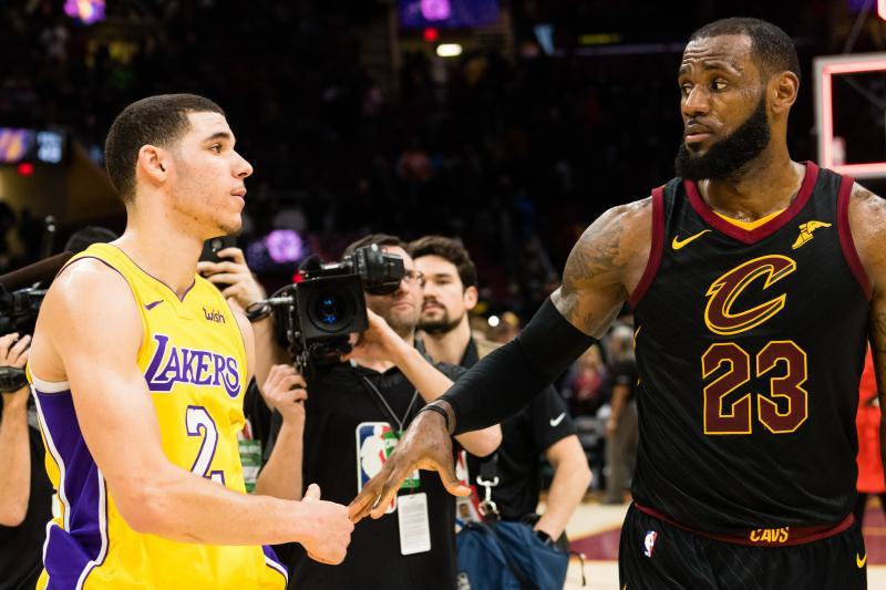 a8c3685f5a79 Jason Miller Getty Images. LeBron James had some advice for Lonzo Ball when  ...