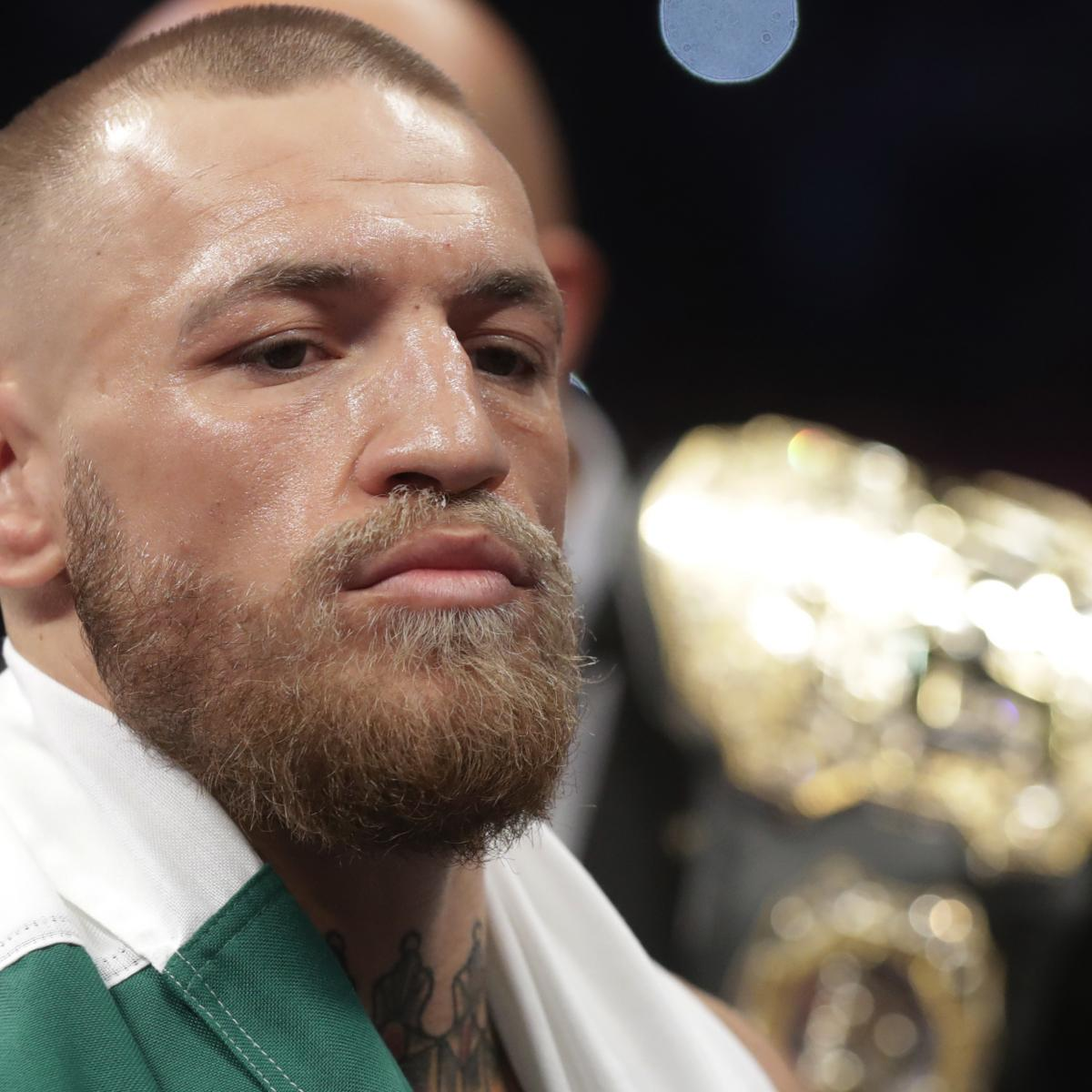 Conor McGregor Says He Wants a UFC Fight Next
