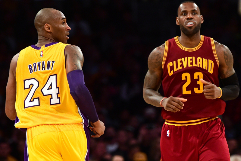 Kobe Bryant Says LeBron James the Player He'd Want to Play with in His Prime