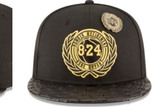 detailed look 3f227 d130f Limited-Edition Hat Honoring Kobe Bryant s Number Retirement Priced at   5,824.08   Bleacher Report   Latest News, Videos and Highlights
