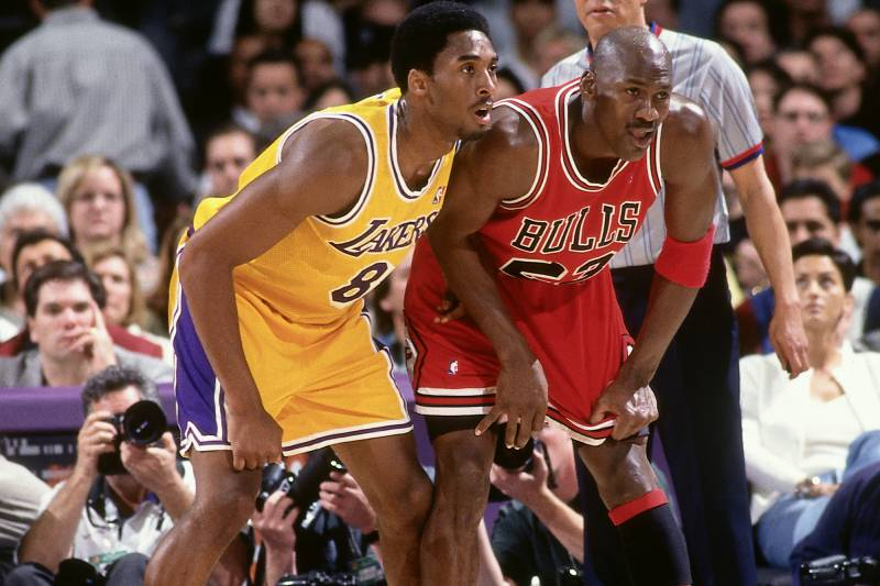 4cc87b6197d Kobe Bryant Thought He d  Destroy  Michael Jordan in 1st Meeting ...