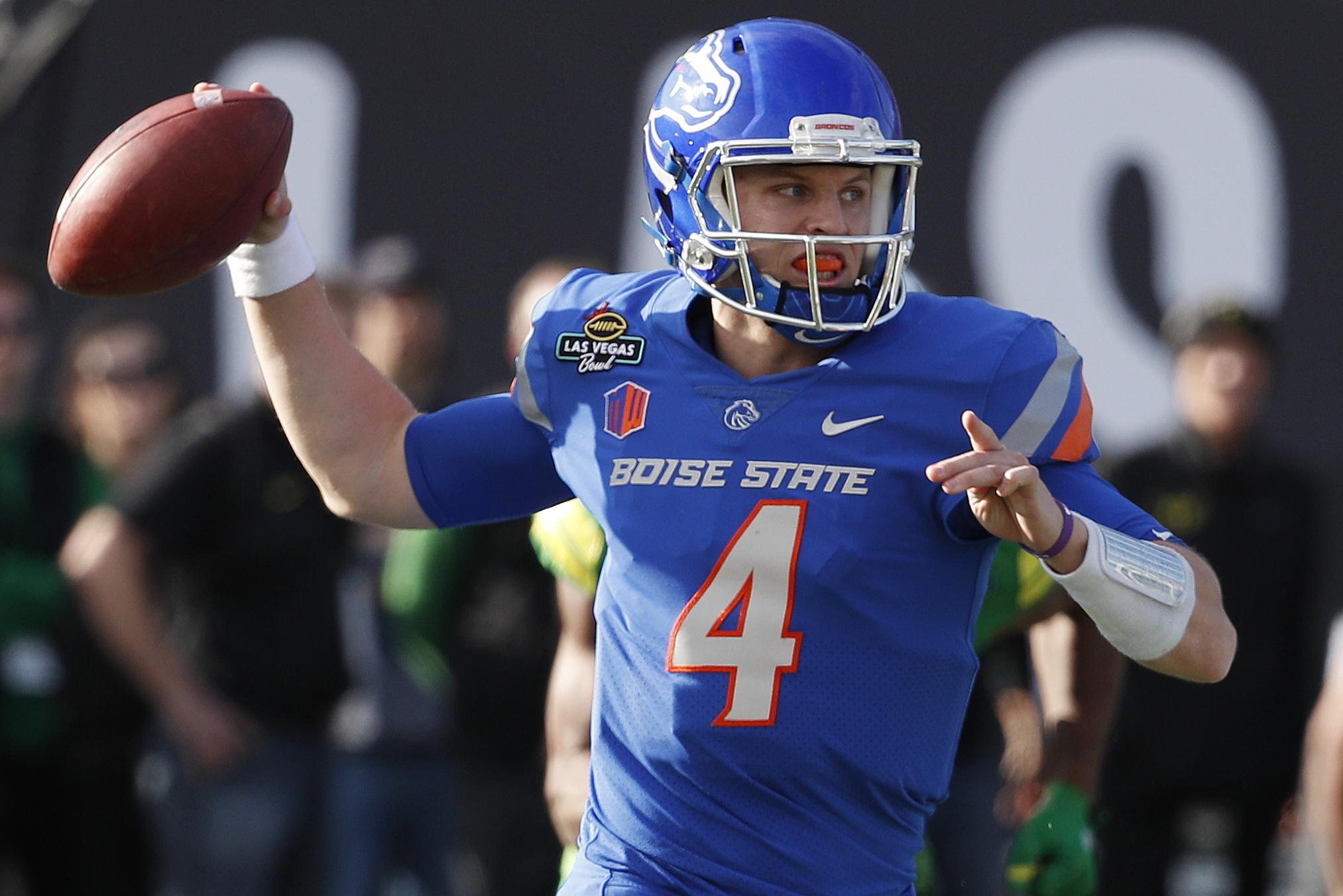 newest f0cfa 963aa Brett Rypien, Boise State Defeat Oregon 38-28 in Las Vegas ...