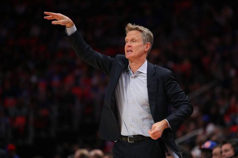 2a158c959e7b Steve Kerr Says Warriors Will Watch Lakers Retire Kobe Bryant s ...