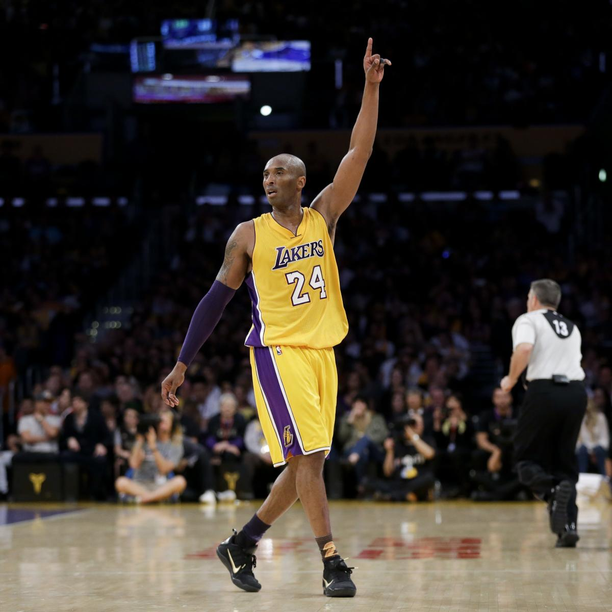 nice shoes 31275 42d0e Kobe Bryant Explains His Jersey Numbers Ahead of Lakers ...