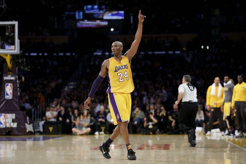 nice shoes a7df3 38932 Kobe Bryant Explains His Jersey Numbers Ahead of Lakers ...