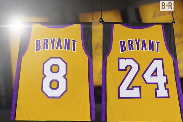 f09a88448d6a Kobe Bryant  No. 8 and No. 24 by the Numbers