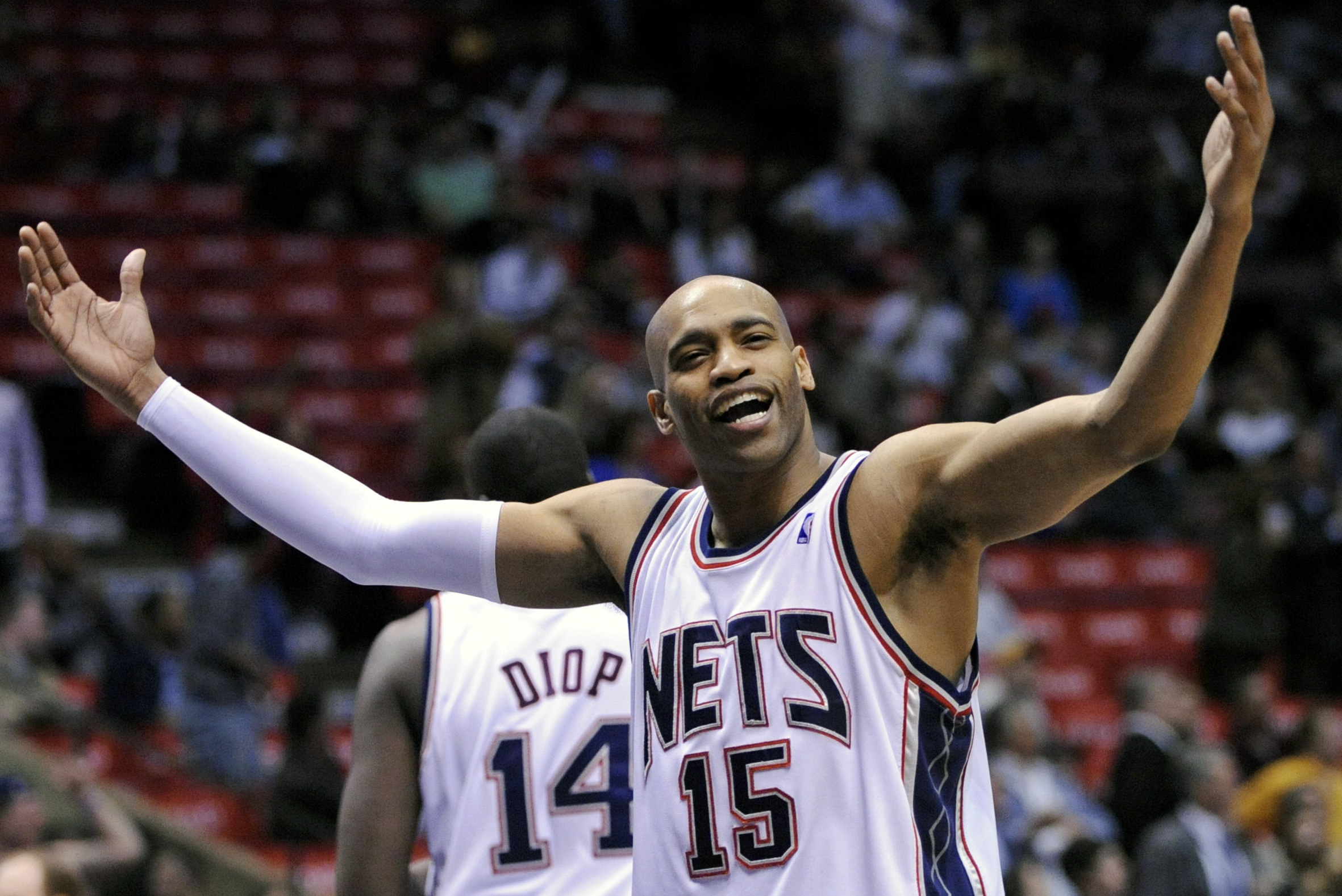 huge selection of 7c3c4 fdd40 Vince Carter Says It Would Be 'A Dream Come True' If Nets ...