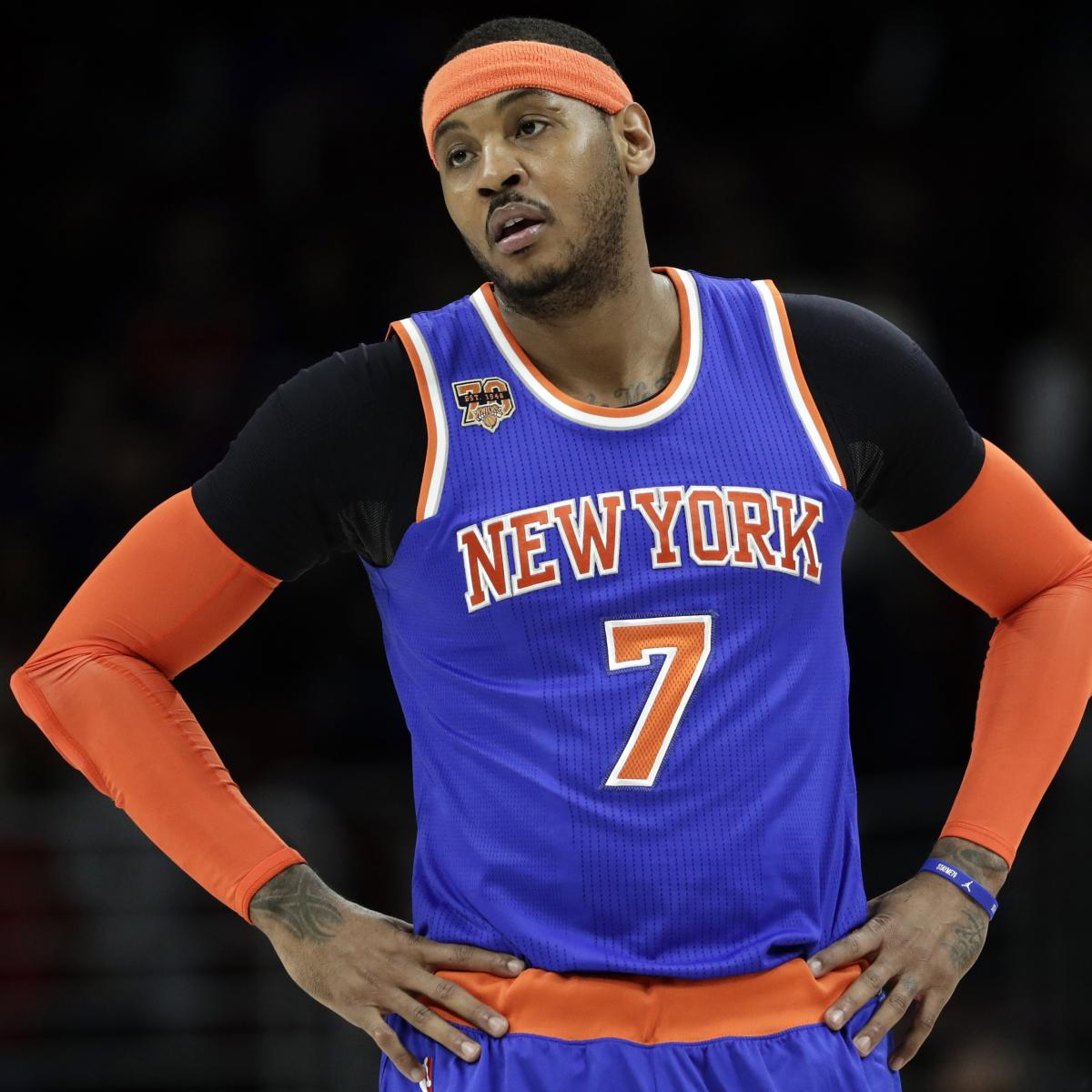 Carmelo Anthony Reportedly Fell Asleep During Phil Jackson ...
