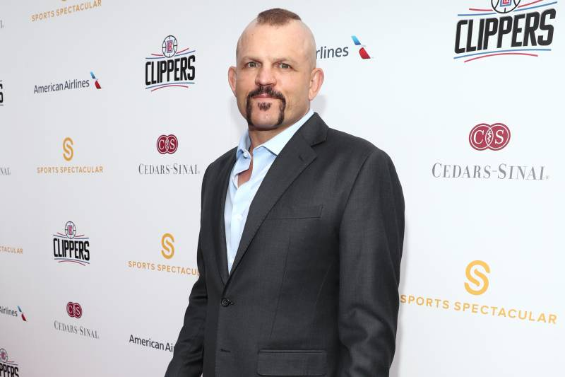 LOS ANGELES, CA - APRIL 03: Former mixed martial artist Chuck Liddell attends 32nd Annual Cedars-Sinai Sports Spectacular at W Los Angeles - Westwood on April 3, 2017 in Los Angeles, California. (Photo by Rich Polk/Getty Images for Sports Spectacular)