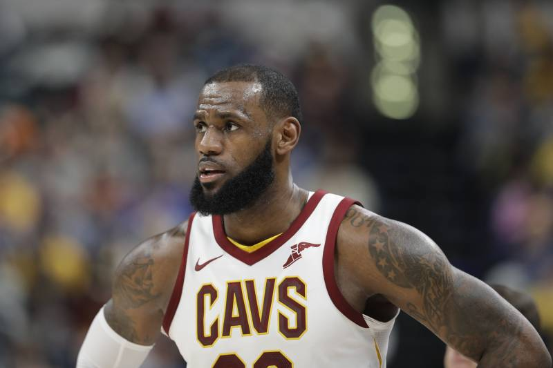 online retailer 3dc8c 858b7 LeBron James Rumors: Rockets Expected to Pursue Cavs Star in ...