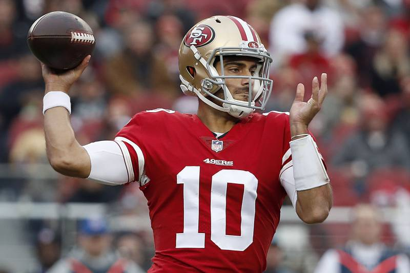 Deal with 49ers makes QB Jimmy Garoppolo NFL's highest-paid player