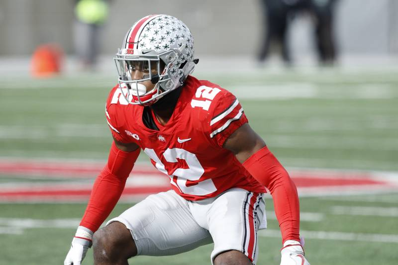 Ohio State CB Denzel Ward.
