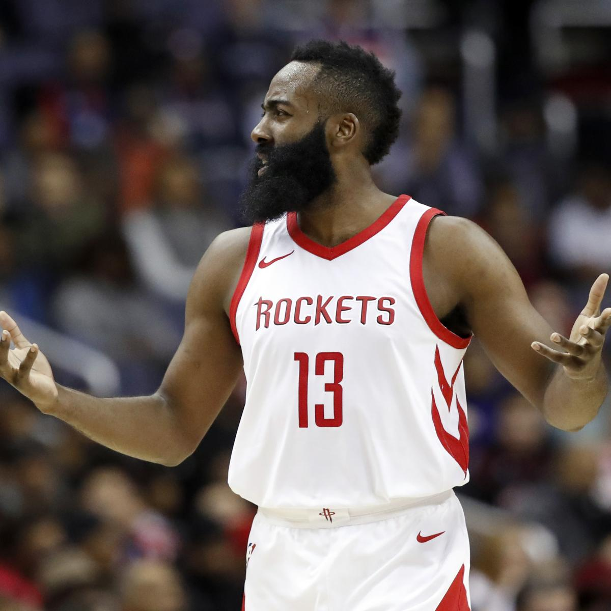 Houston Rockets Game Log: James Harden Leaves Game Vs. Lakers After Hamstring Injury