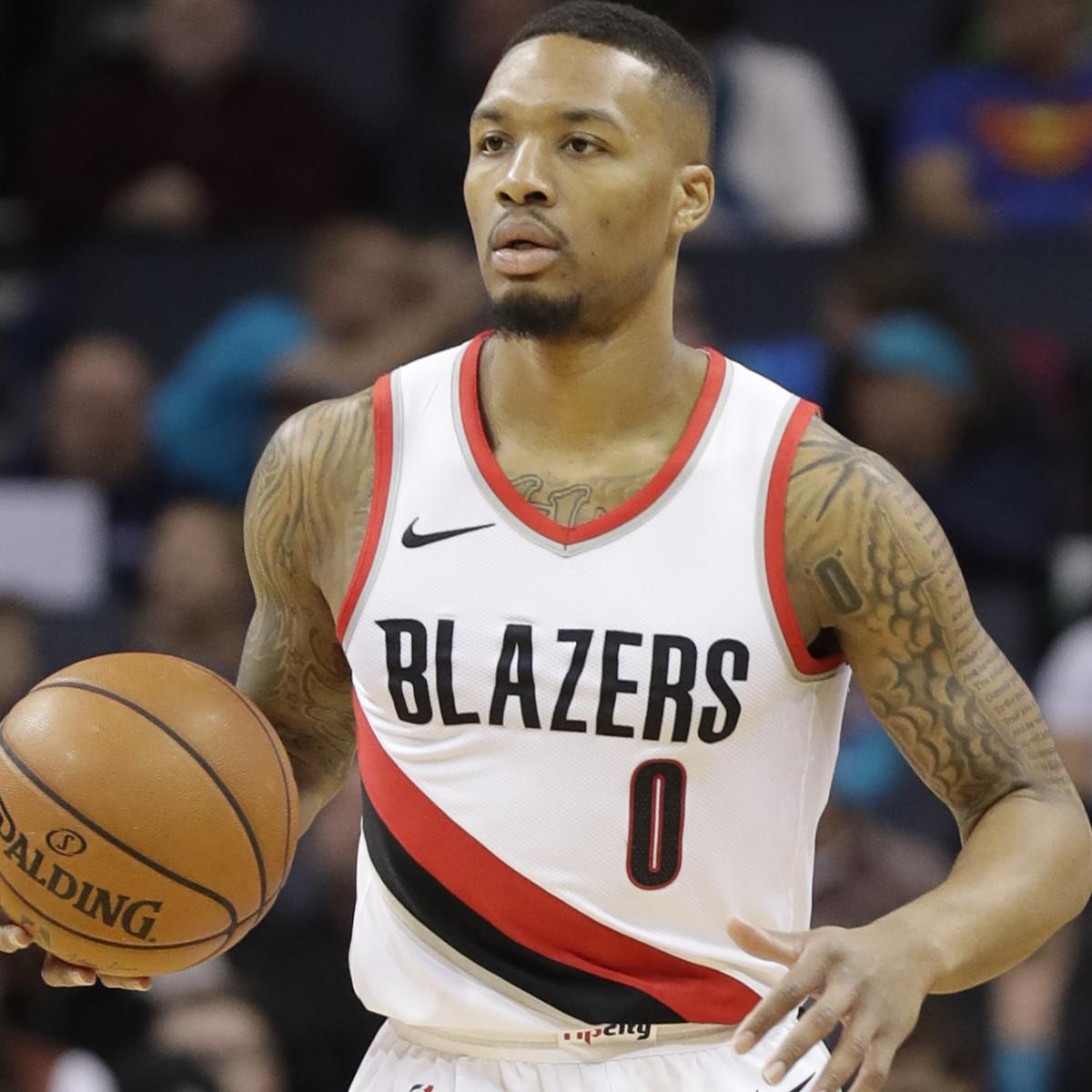 Damian Lillard Reportedly To Return From Hamstring Injury