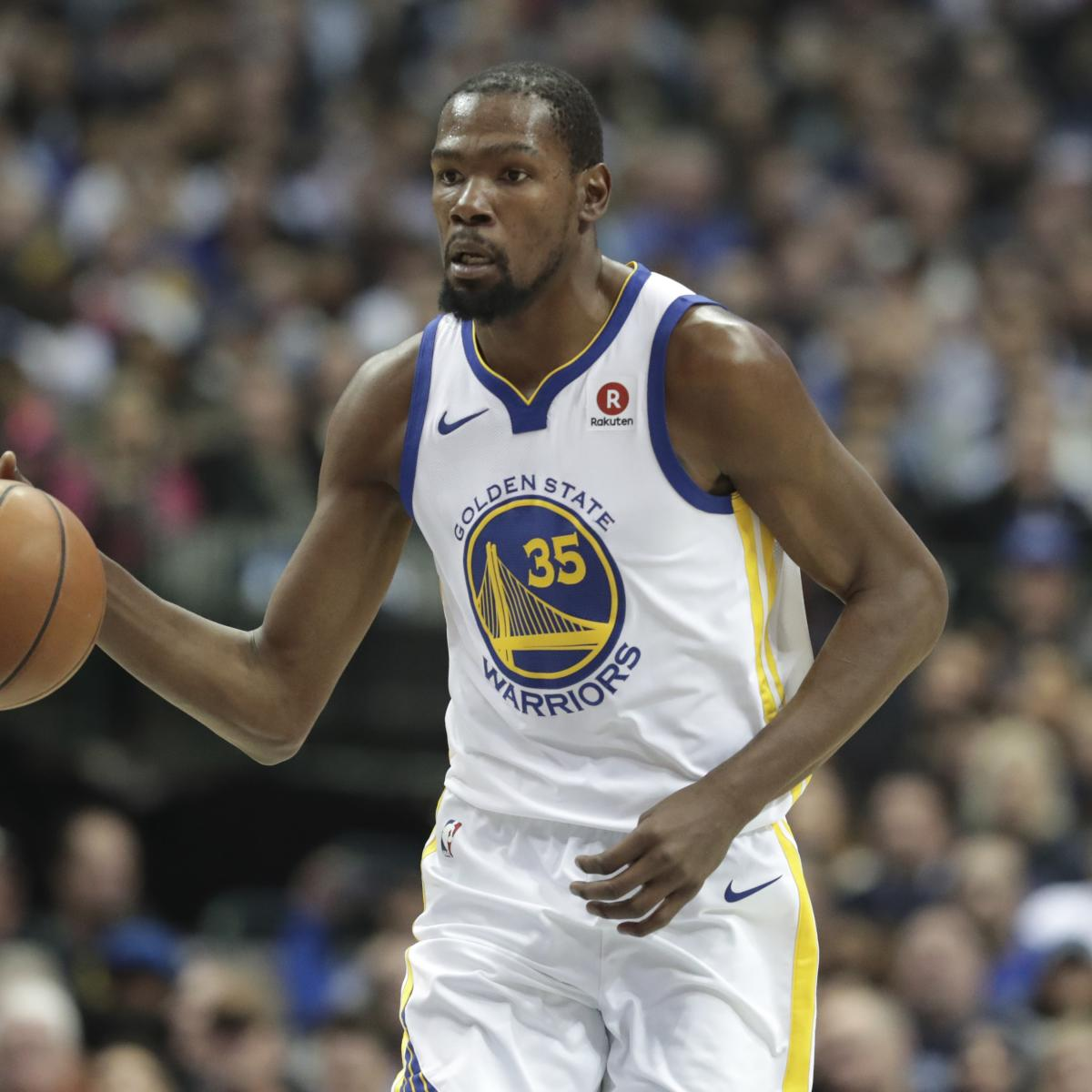 Warriors Come Out To Play Bleacher Report: Kevin Durant Says Warriors Are Focusing On Themselves, Not