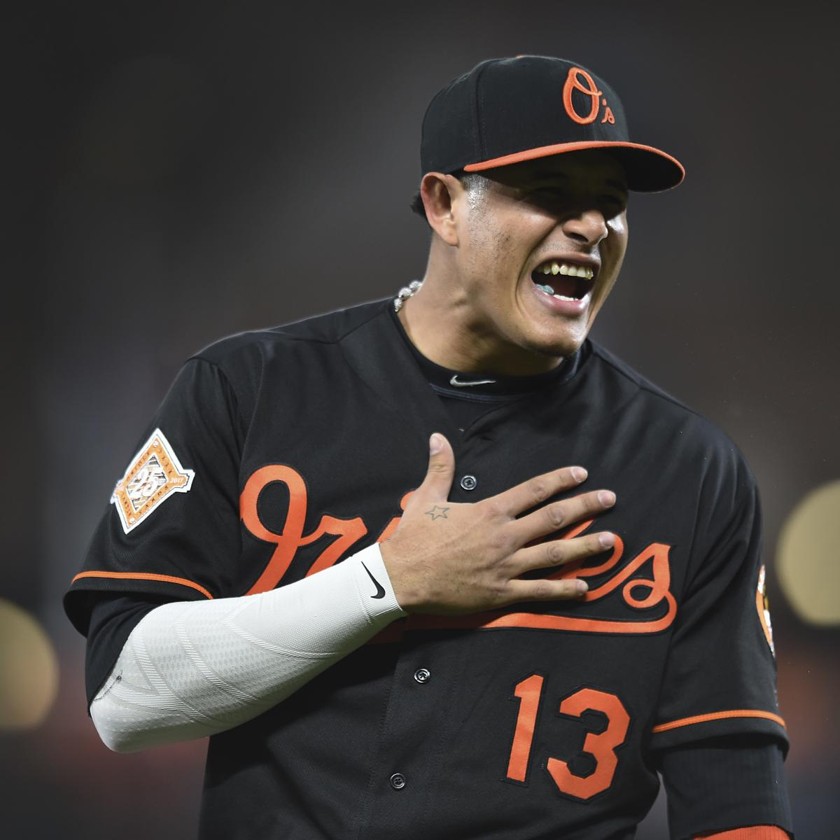 Could Manny Machado land with the Brewers or the Dodgers Would the Orioles include a reliever in the deal Get the latest at MLB Trade Rumors