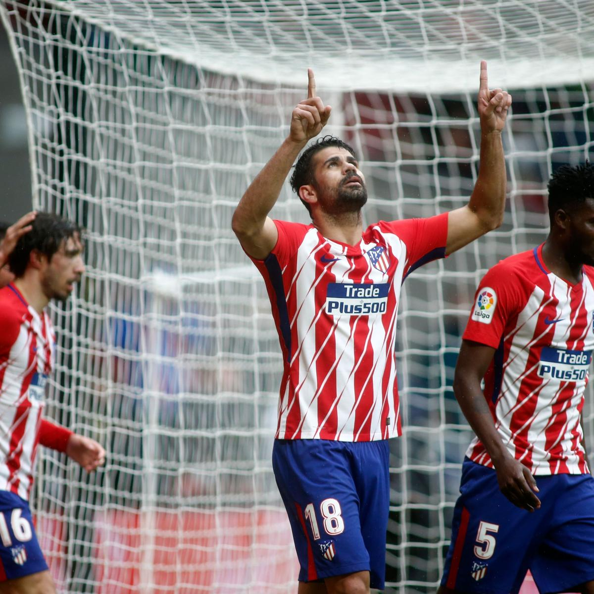 La liga results 2018 scores and updated table after saturday 39 s week 18 matches bleacher - La liga latest results and table ...
