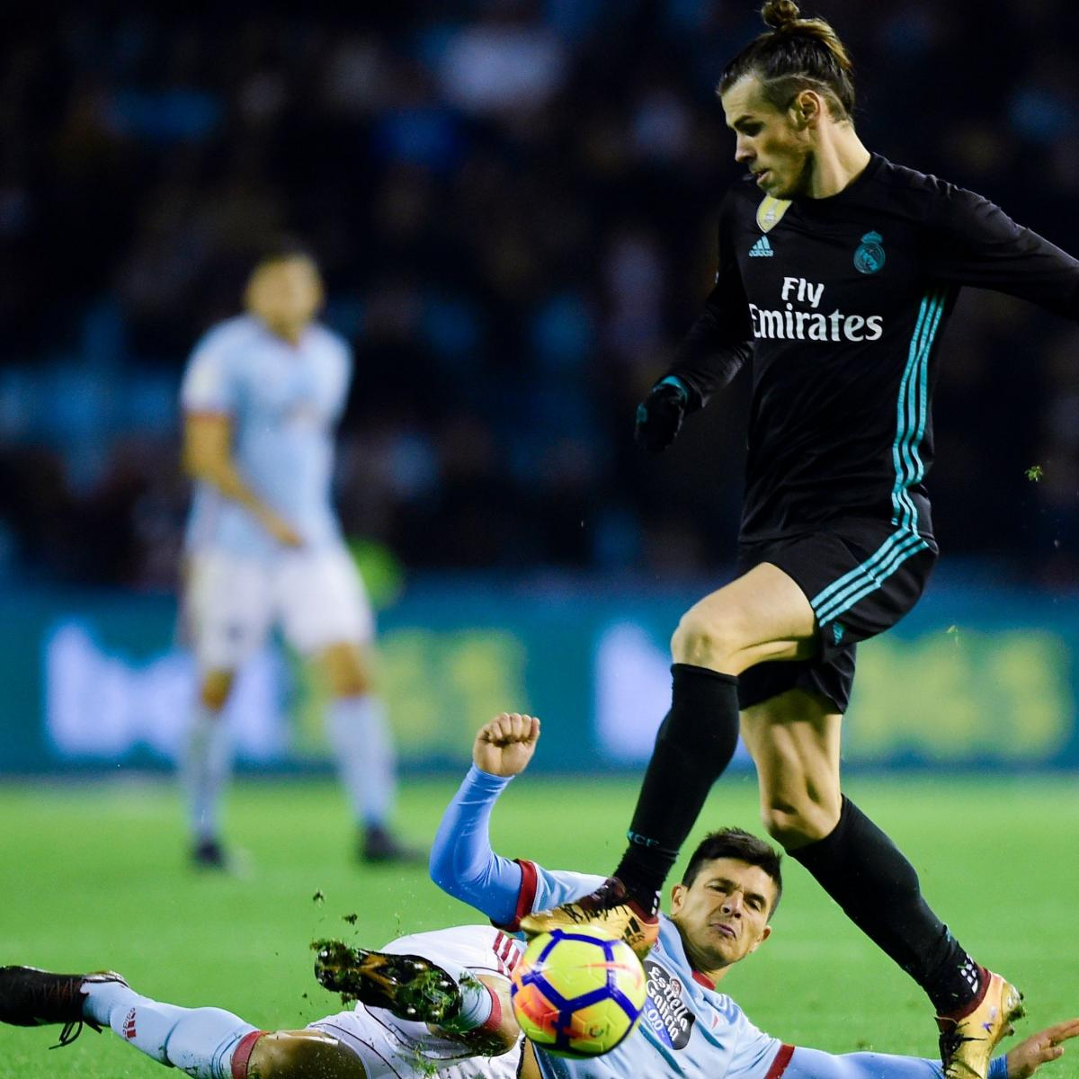 Barcelona Vs Celta Vigo In Youtube: Gareth Bale's 2 Goals Help Real Madrid Earn Draw Vs. Celta