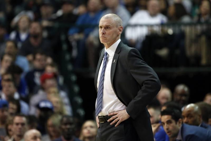0eb90231657 Dallas Mavericks head coach Rick Carlisle watches his team play against the  Chicago Bulls during the