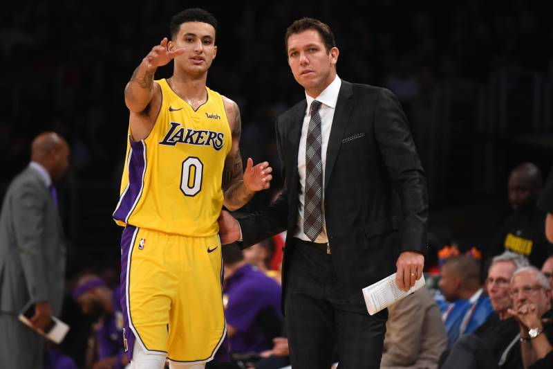 713aa1db120 Kyle Kuzma Defends Luke Walton Amid LaVar Ball s Criticism of Lakers ...