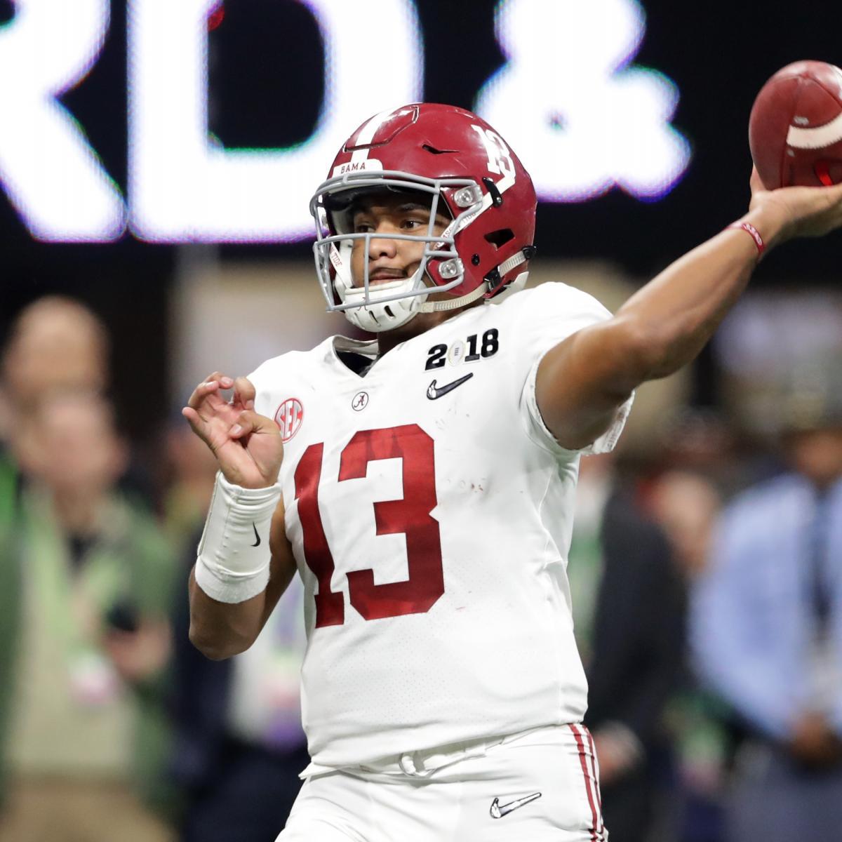 College Football Rankings: Early Look At 2018 Preseason