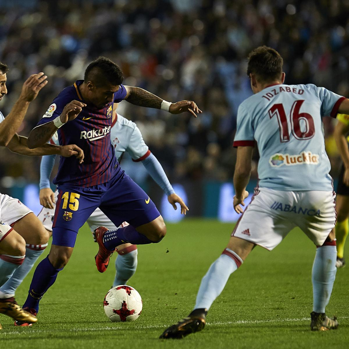 Barcelona Vs Celta Vigo In Youtube: Barcelona Vs. Celta Vigo: 2018 Spanish Copa Del Rey Leg 2