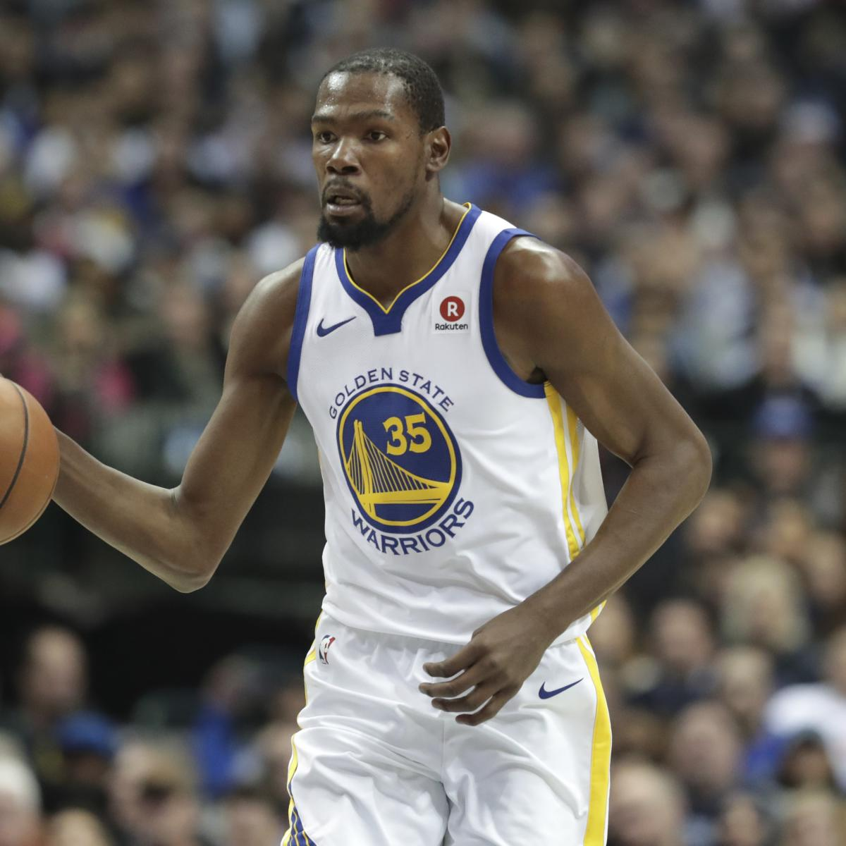 Kevin Durant: I 'Never Envisioned' Reaching 20,000 Points