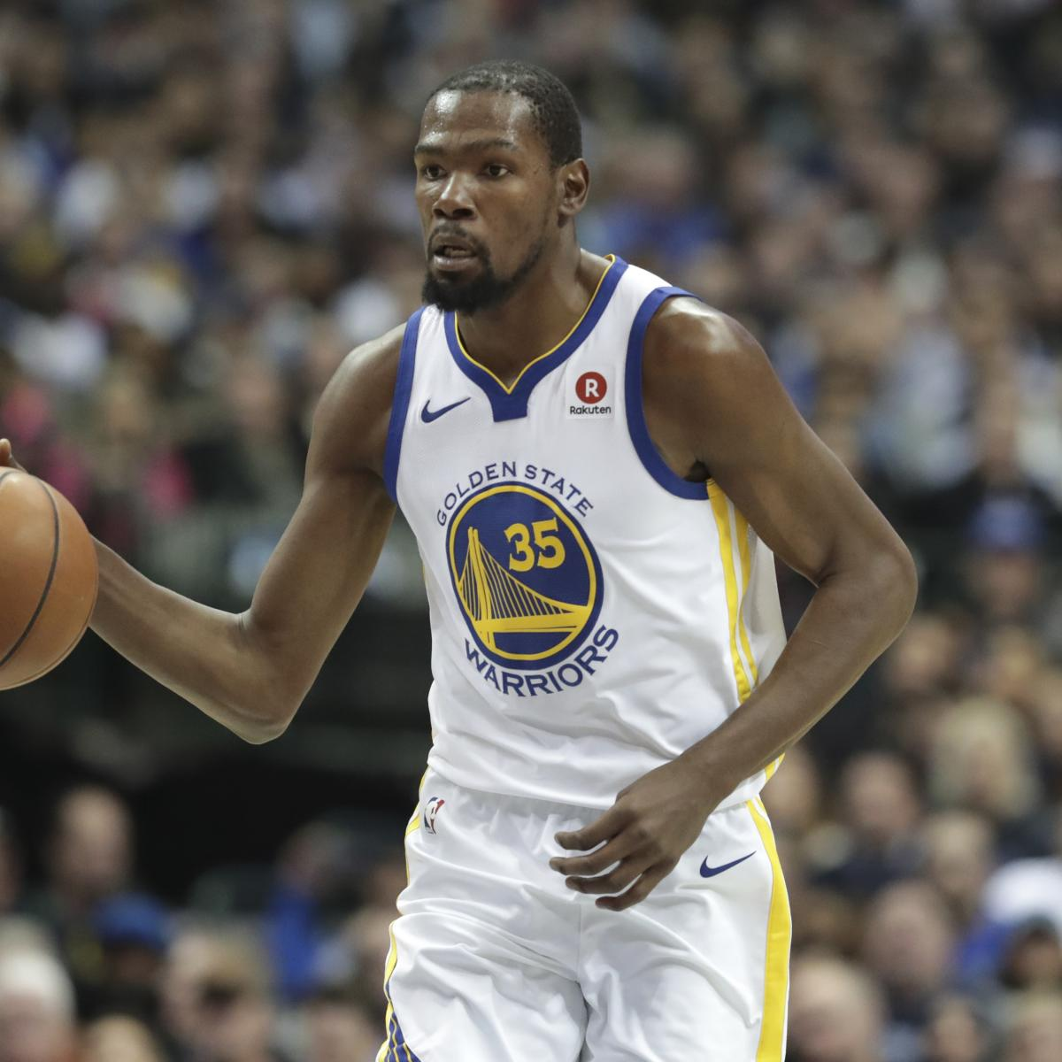 Kevin Durant Becomes 5th Player In NBA History To Score