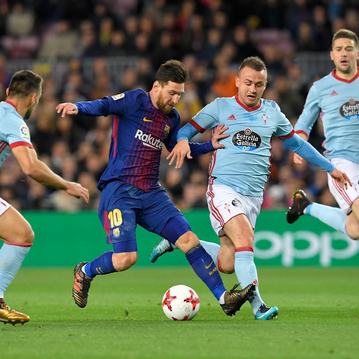 Lionel Messi Masterclass Sees Barcelona Past Celta Vigo In
