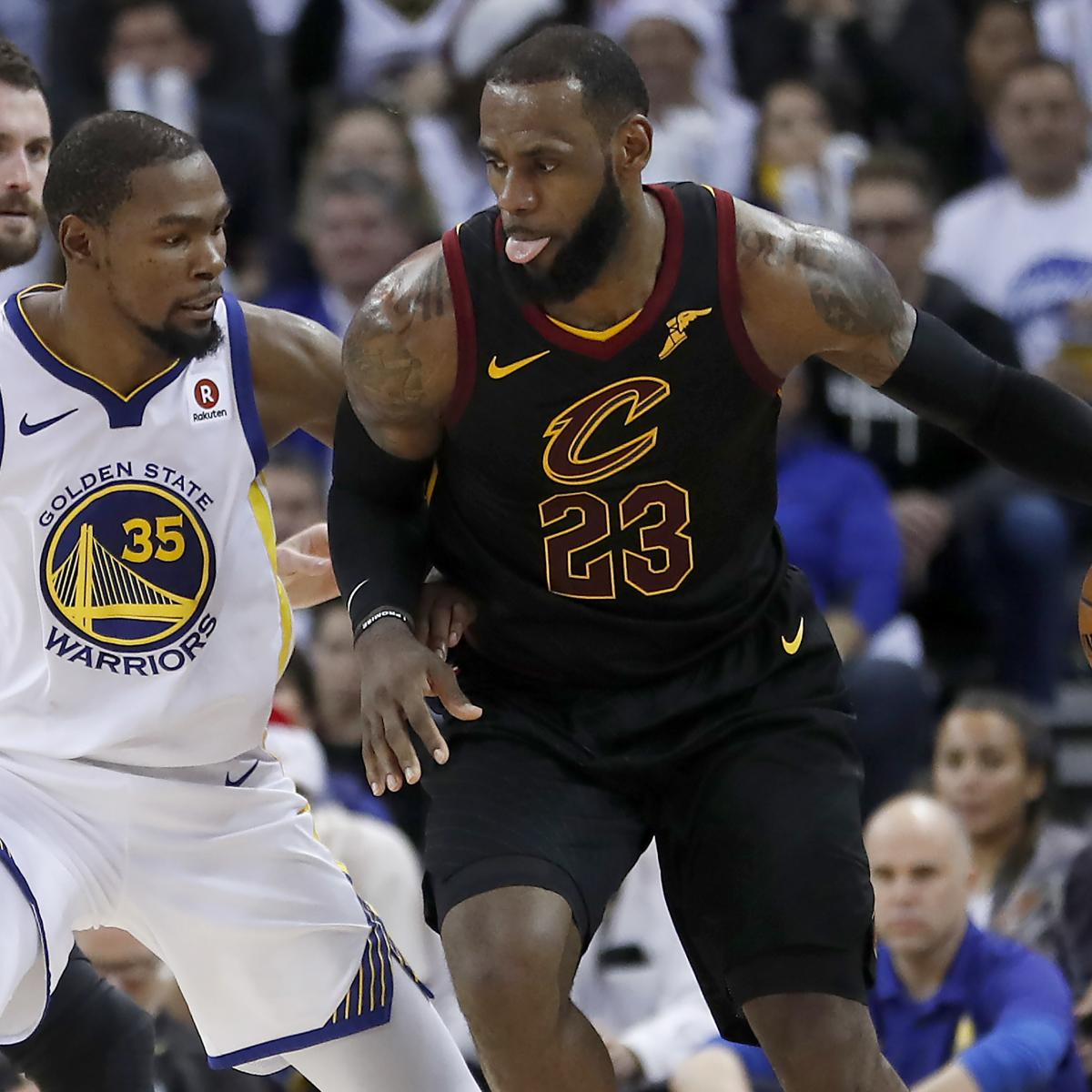 dc5ee2650d7 10 Burning Questions Ahead of Warriors-Cavs Monday Showdown ...