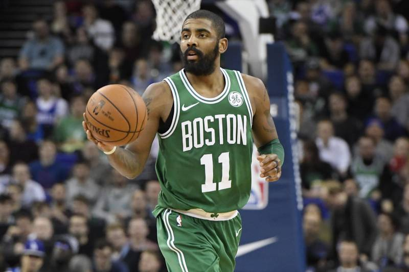 f395d5c92aaa Kyrie Irving Ruled out vs. 76ers Due to Shoulder Injury