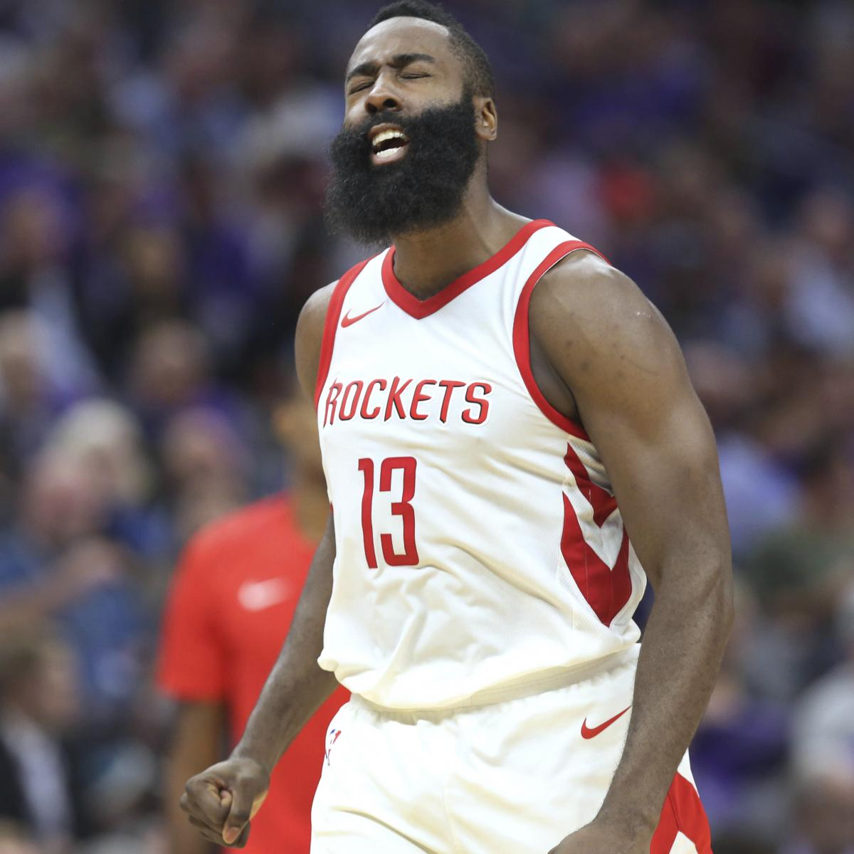 James Harden Injury Report: James Harden To Return From Hamstring Injury Vs. T-Wolves