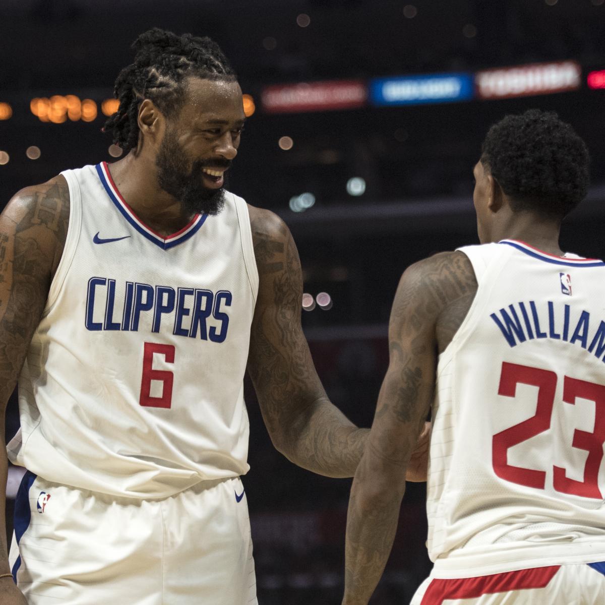 Cavaliers Trade Rumors: Cleveland Pursuing DeAndre Jordan, Lou ...