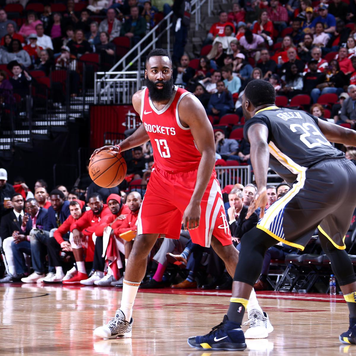 Rockets And The Warriors Game: James Harden Leads Rockets To Tight Win Over Kevin Durant