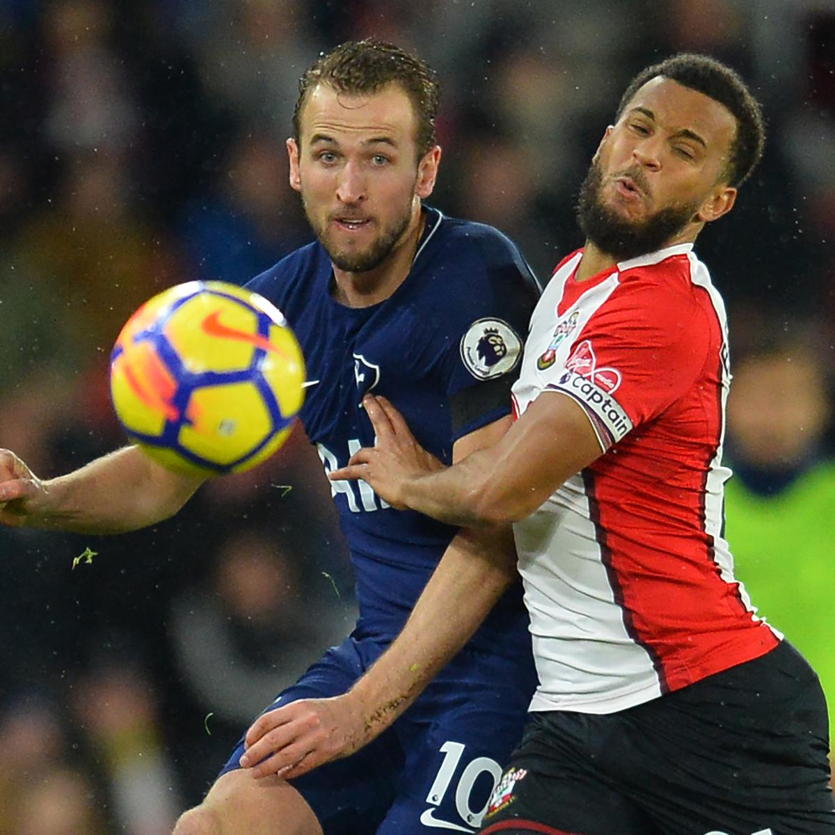Tottenham 3 Fulham 1 Match Highlights Harry Kane Scores: EPL Table: 2018 Week 24 Standings After Sunday's Premier
