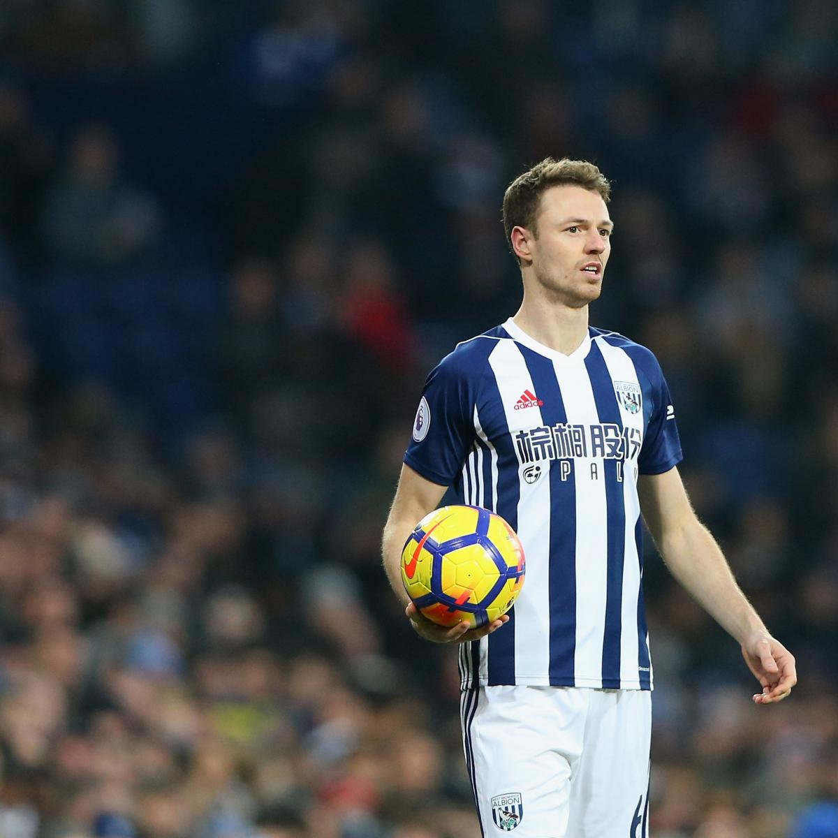 Arsenal Transfer News: Latest Rumours On Jonny Evans And