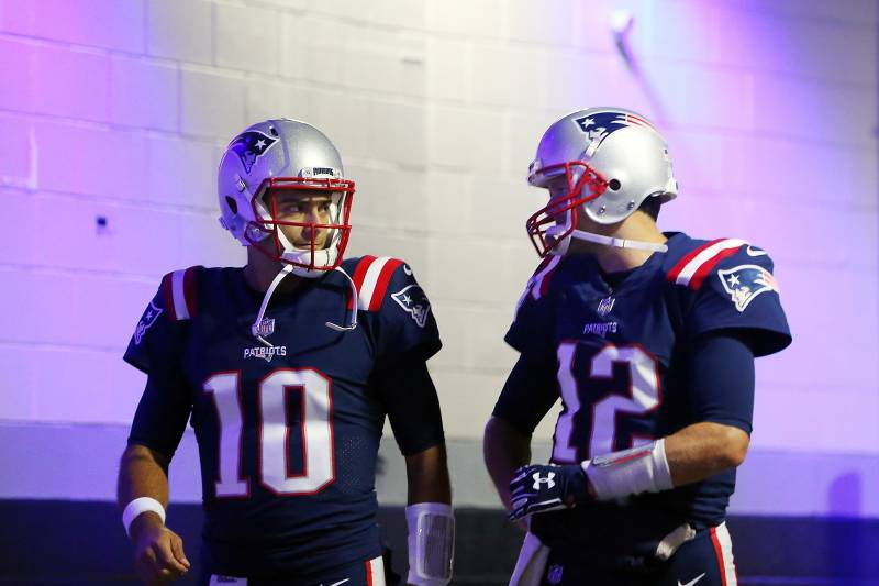 895f21665c4 Jimmy Garoppolo Receives  79K Bonus for Patriots Reaching Super Bowl ...