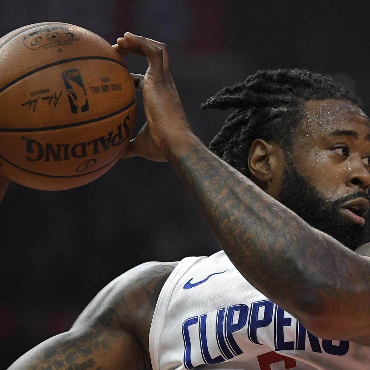 Quakertown Blazers 2018 Schedule: DeAndre Jordan Trade Rumors: Blazers Have 'Tried To Engage