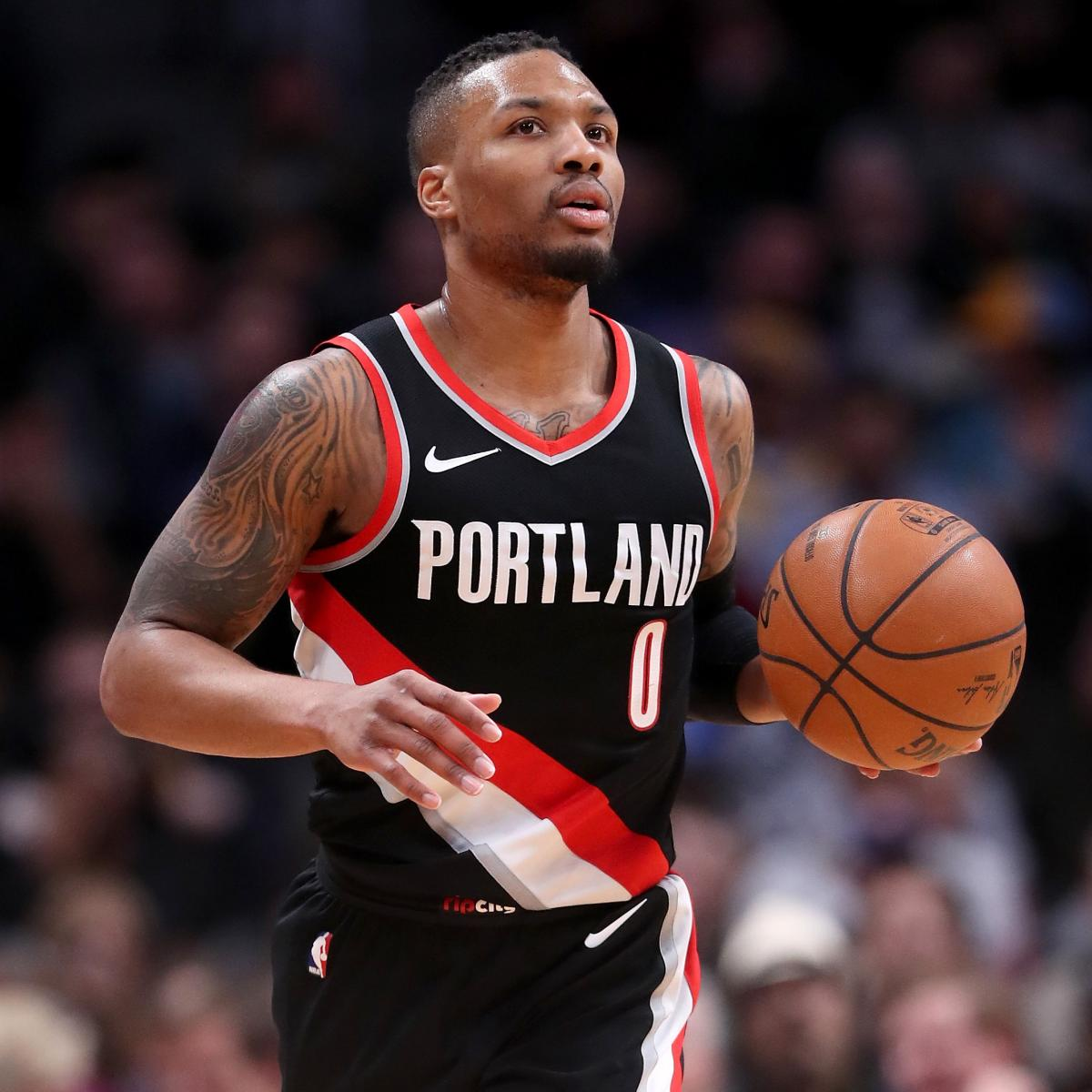 Damian Lillard Says He 'Sure Will' Remain With Trail