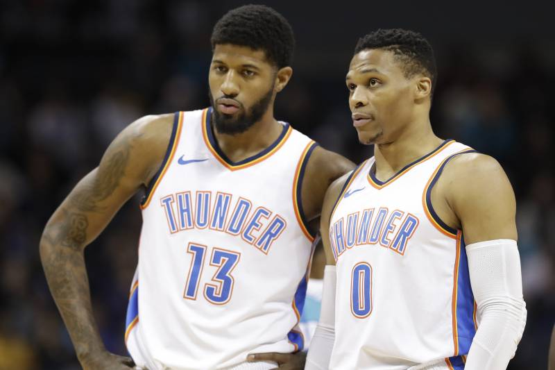 check out 52033 4dc50 Russell Westbrook Says Paul George Not Being an All-Star Is ...