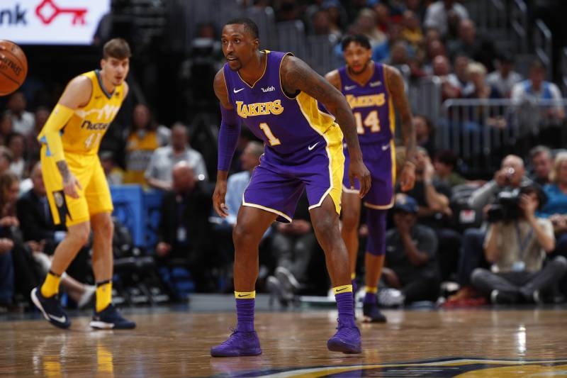 4b6db4af80a Los Angeles Lakers guard Kentavious Caldwell-Pope (1) in the second half of