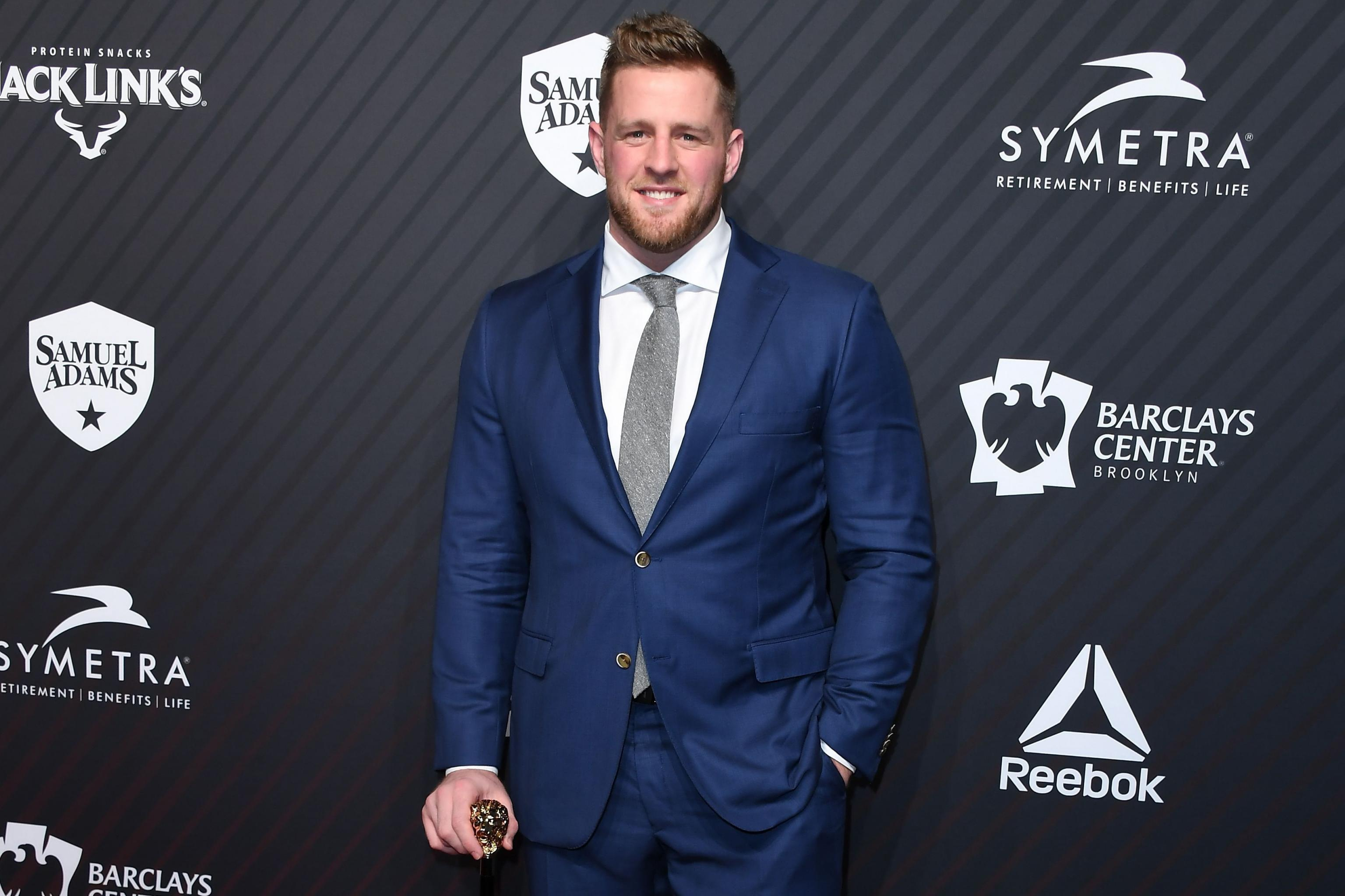finest selection e9bbf 01c55 J.J. Watt Wins NFL's 2017-18 Walter Payton Man of the Year ...