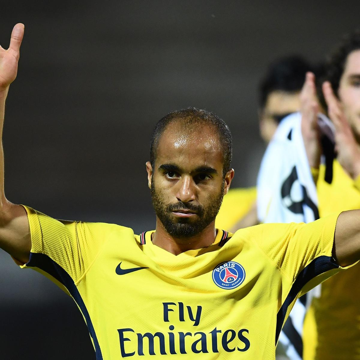 Paris Saint Germain S Lucas Moura Arrives For Tottenham: Tottenham Transfer News: Lucas Moura Reportedly In London