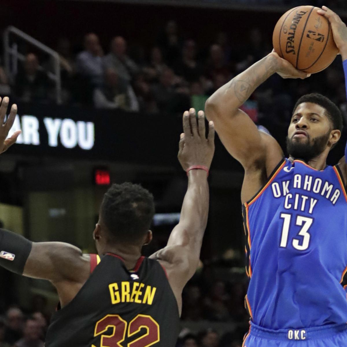 The 250 Million Paul George Question Will Okc Break Bank To Keep
