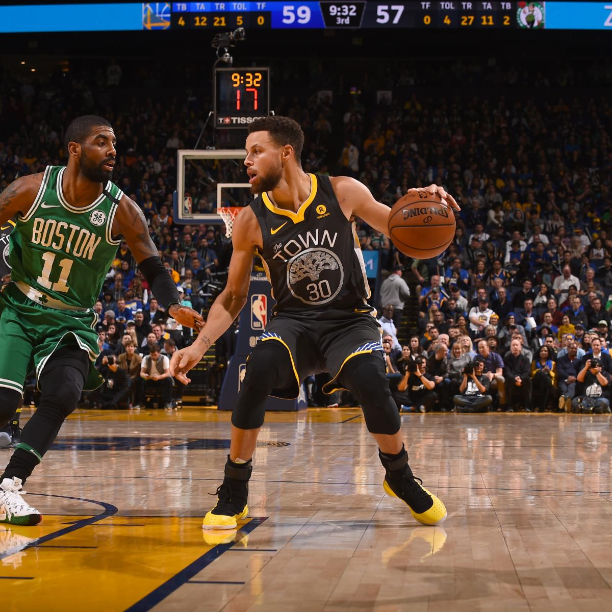 Warriors Come Out To Play Bleacher Report: Stephen Curry Scores 49, Outduels Kyrie Irving As Warriors