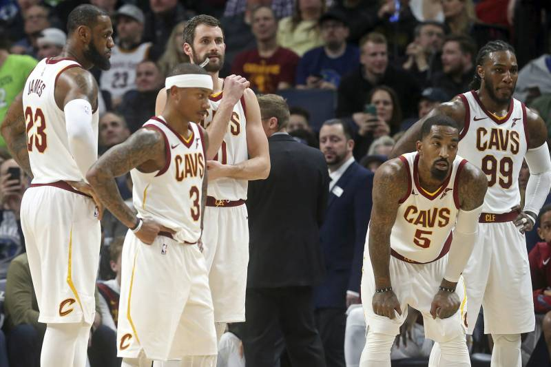 b8bf087b Cavs' Front Office Mistakes Pushing LeBron and Co. to Breaking Point ...