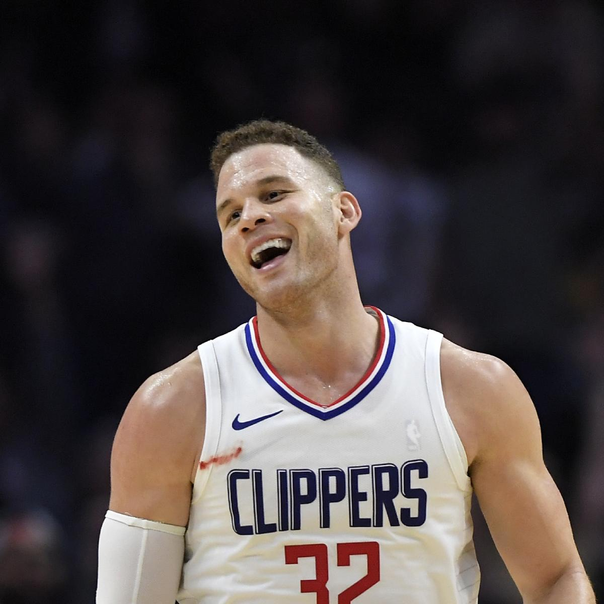 Blake Griffin Responds To Reported Pistons Trade With Will